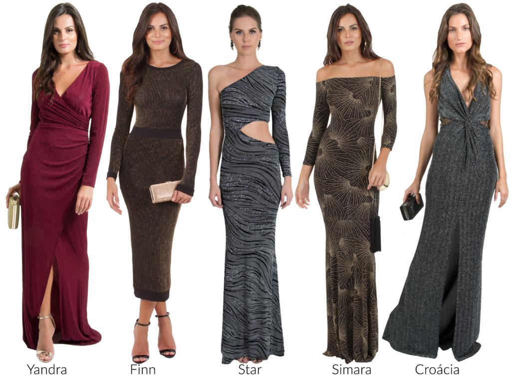 vestidos painel